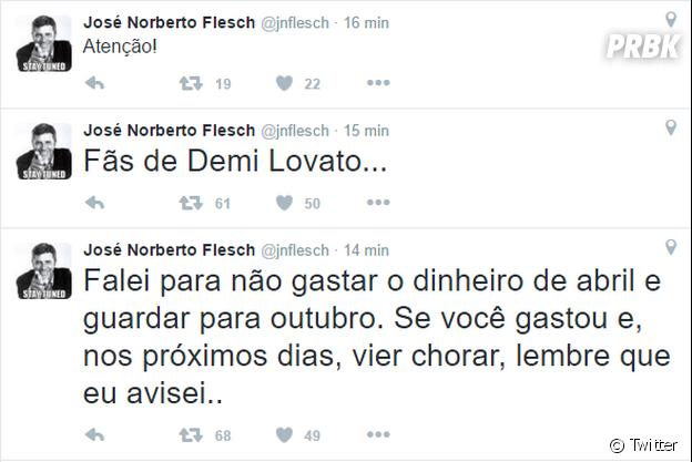 """Demi Lovato e Nick Jonas devem anunciar datas oficiais da """"Future Now Tour"""" no Brasil em breve"""