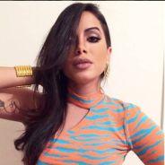 """Anitta fala sobre preenchimento labial na coletiva de lançamento do """"Música Boa Ao Vivo"""""""