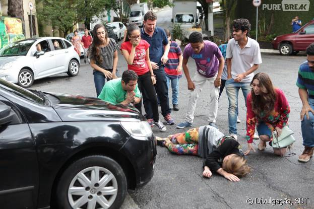 """Em """"Cúmplices de Um Resgate"""": Priscila (Giovanna Chaves) vai passar por um situação difícil na novela"""
