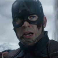 """De """"Capitão América 3"""": clipe mostra Falcão e Feiticeira Escarlate lutando ao lado de Steve Rogers"""