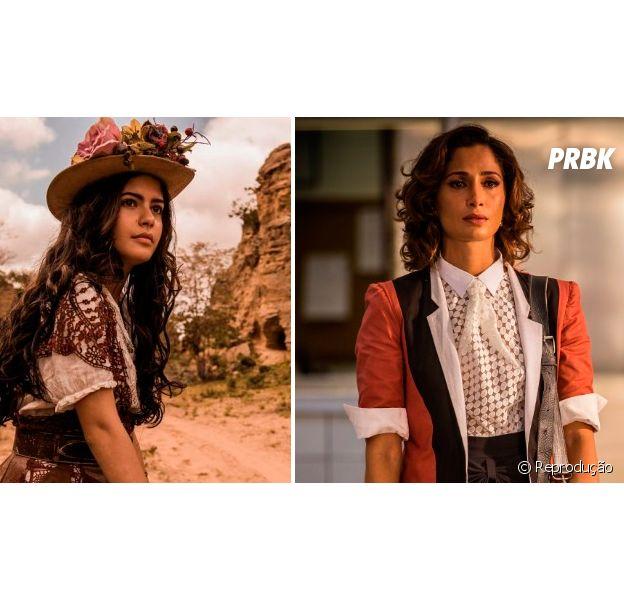 """Novela """"Velho Chico"""": Maria Tereza roubou o coração de todo mundo quando vivida porJulia Dalavia, chegou a vez de Camila Pitanga assumir o papel"""