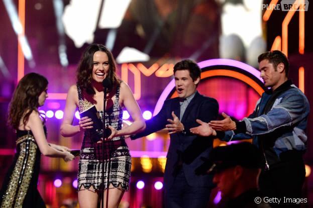 """""""Star Wars VII"""" foi o grande vencedor do MTV Movie Awards"""
