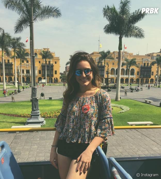 Kéfera está super feliz na sua viagem para o Peru