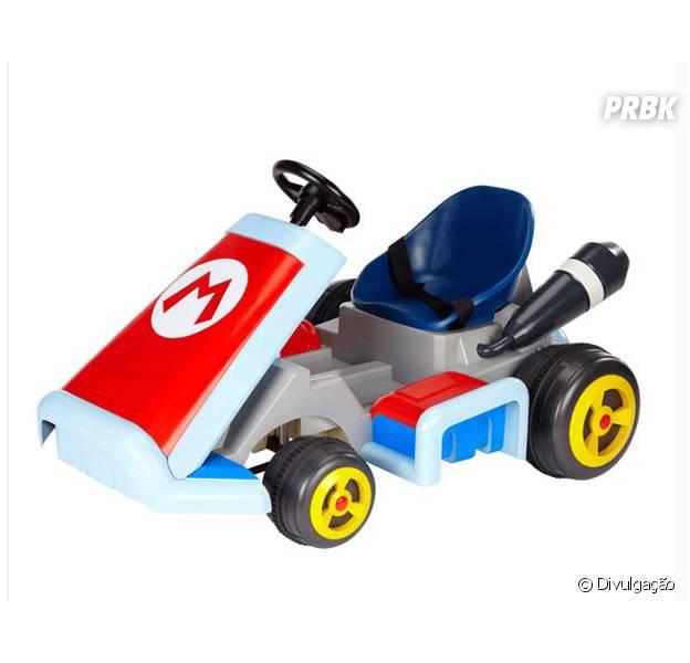 """Carrinho oficial do jogo """"Mario Kart 8"""""""