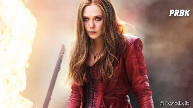 """Em """"Os Vingadores 3"""",Feiticeira Escarlate (Elizabeth Olsen) é confirmada no filme!"""