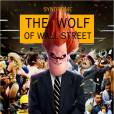 "Síndrome, de ""Os Incríveis"", vive Leonardo Dicaprio no cartaz de ""O Lobo de Wall Street"""