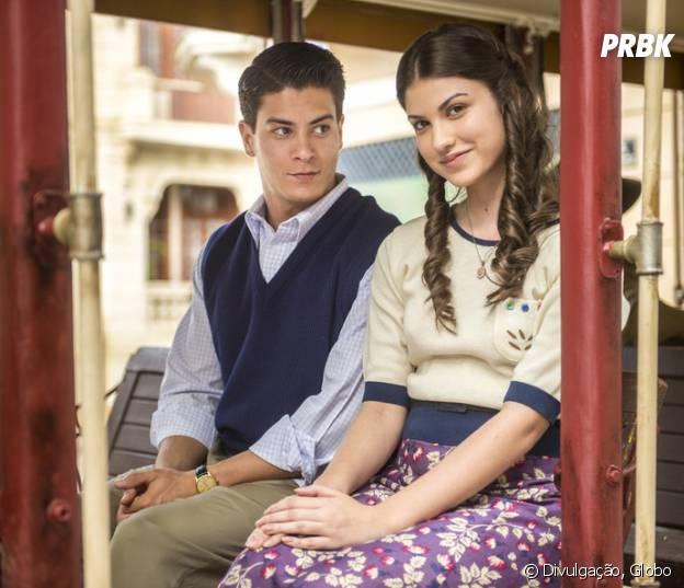 """Em """"Êta Mundo Bom"""", Osório (Arthur Aguiar) não sabe que Gerusa (Giovanna Grigio) tem doença grave"""