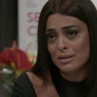 """Novela """"Totalmente Demais"""": Carolina (Juliana Paes) descobre que não pode ter filhos e se desespera!"""