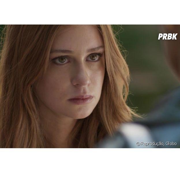 """Em """"Totalmente Demais"""", Eliza (Marina Ruy Barbosa) discute com Carolina (Juliana Paes) e resolve se vingar após ter fotos vazadas!"""