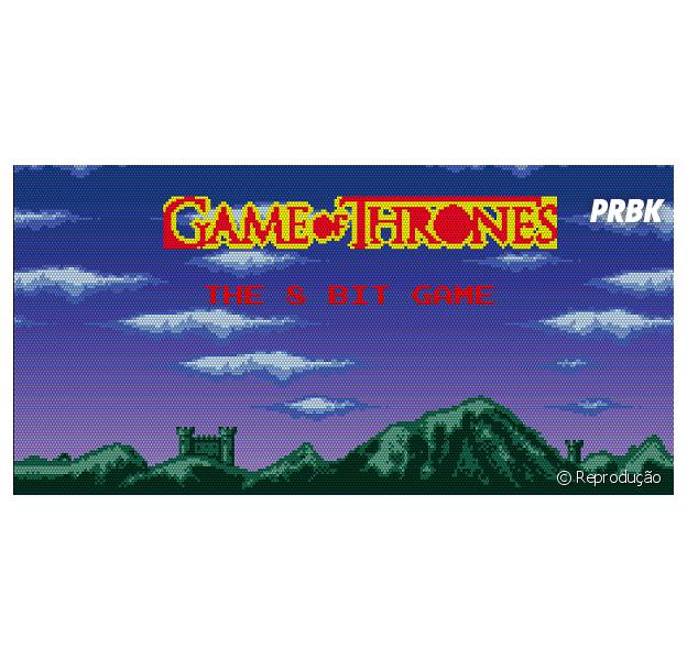 """Em 8-bits: Assista a morte dos seus personagens favoritos de """"Game Of Thrones"""""""