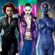 Viúva Negra, Coringa e Mística em filmes solos? Veja super-heróis que deveriam ganhar spin-offs!