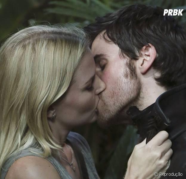 """""""Once Upon A Time"""" é uam das séries que mais entendem de beijos!"""