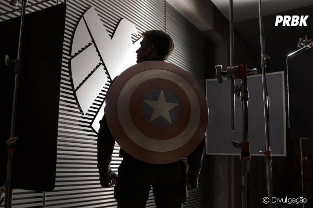 """Longa """"Capitão América 2"""" será lançado em 10 de abril"""