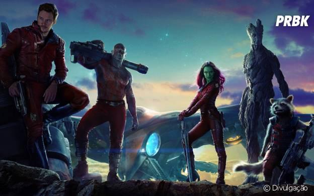 """A Marvel aposta na produção dos super-heróis de """"Guardiões da Galáxia"""""""