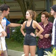 """Em """"Malhação"""": Ben, Anita, Sofia e Sidney fazem mega discussão no meio da rua!"""