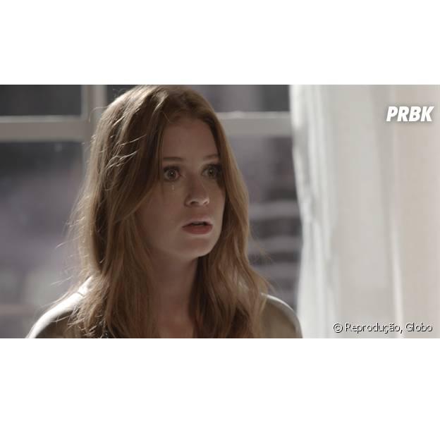 """Em """"Totalmente Demais"""", Eliza (Marina Ruy Barbosa) arma prisão de Dino (Paulo Rocha), mas plano não dá certo e bandido foge"""