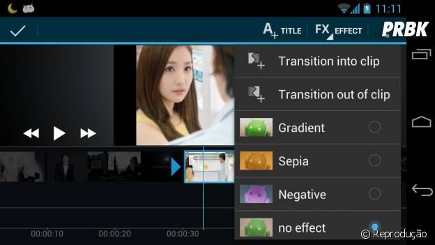 """Exporte vídeos em HD, coloque fotos nos vídeos que você faz através do """"Movie Studio Video Maker"""""""
