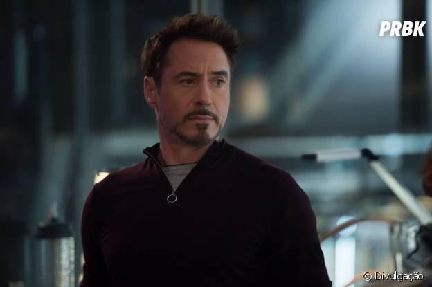 Tony Stark, ou Homem de Ferro, faz aniversário em maio