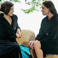 """Na novela """"Em Família"""": Marina se declara para Clara e ela pede demissão!"""
