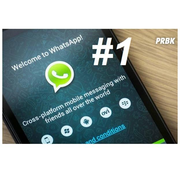Whatsapp é o mensageiro mais usado em todo o mundo: 109 países!