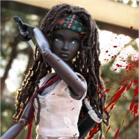 "Michonne, de ""The Walking Dead"", e outras personagens de séries viram Barbies"