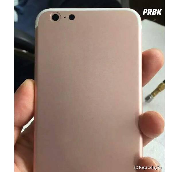 iPhone 7, da Apple, tem imagem divulgada na versão rosa!