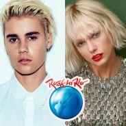 Justin Bieber, Rihanna, Taylor Swift e Beyoncé no Rock in Rio 2017? Festival abre votação para fãs!