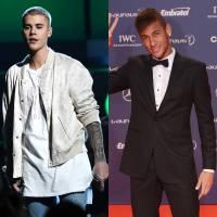 Justin Bieber e Neymar Jr. BFF's? Dupla joga bola nos EUA e posta vídeo da partida no Instagram!