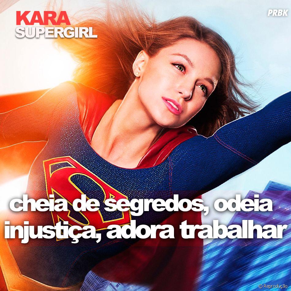 """De """"Supergirl"""": a Kara (Melissa Benoist) tem uma personalidade bem forte!"""