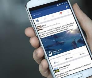 O Facebook também permite a postagem de imagens em 360° para dispositivos compatíveis com a tecnologia