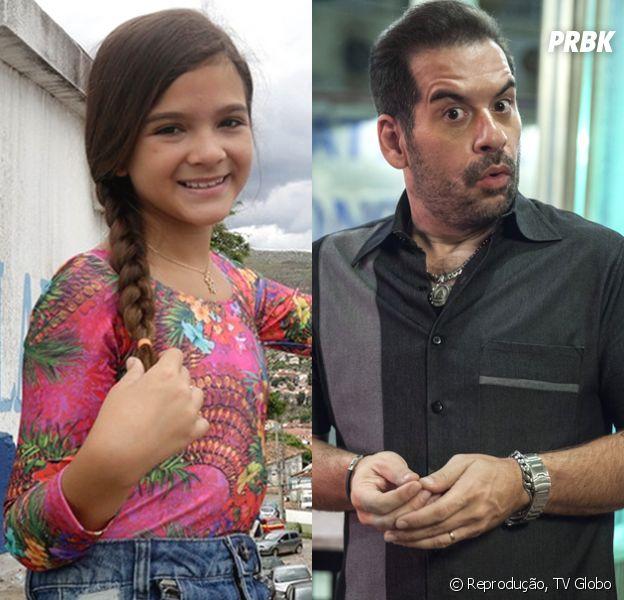 """Mel Maia e Leandro Hassum vão estrelar """"Tal Pai, Tal Filha"""", especial de fim de ano da Globo"""