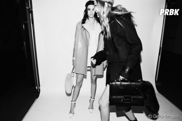 Kendall Jenner e Gigi Hadid também trabalham juntas