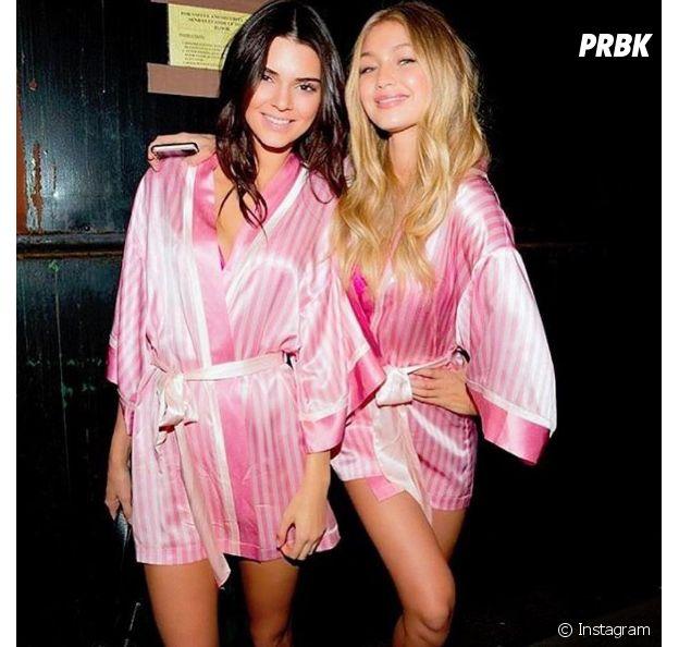 Kendall Jenner e Gigi Hadid estrearam juntas na passarela da Victoria's Secret