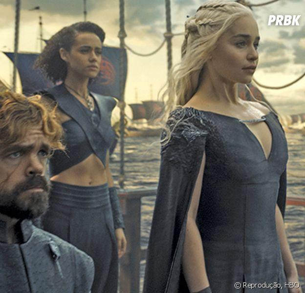 """Emilia Clarke, de """"Game of Thrones"""", fala sobre Daenerys e 7ª temporada da série!"""