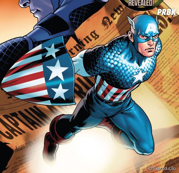 """Segunda edição de """"Steve Rogers: Capitão América"""" chega às bancas na próxima quarta-feira (29)"""
