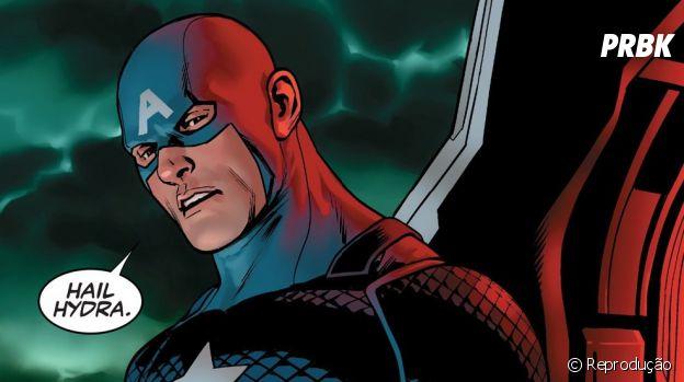 Capitão América vilão? Herói nos quadrinhos chocou os fãs ao usar saudação de inimigos