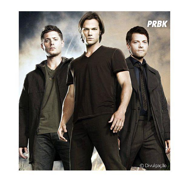 """De """"Supernatural"""", Jensen Ackles e Jared Padalecki falam sobre o que querem para a 12ª temporada e elogiam Misha Collins, o Castiel!"""