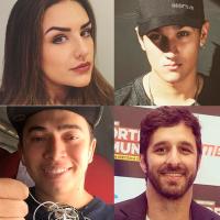 Kéfera Buchmann, Christian Figueiredo, Whindersson Nunes e Rafinha Bastos vão fazer filme juntos!