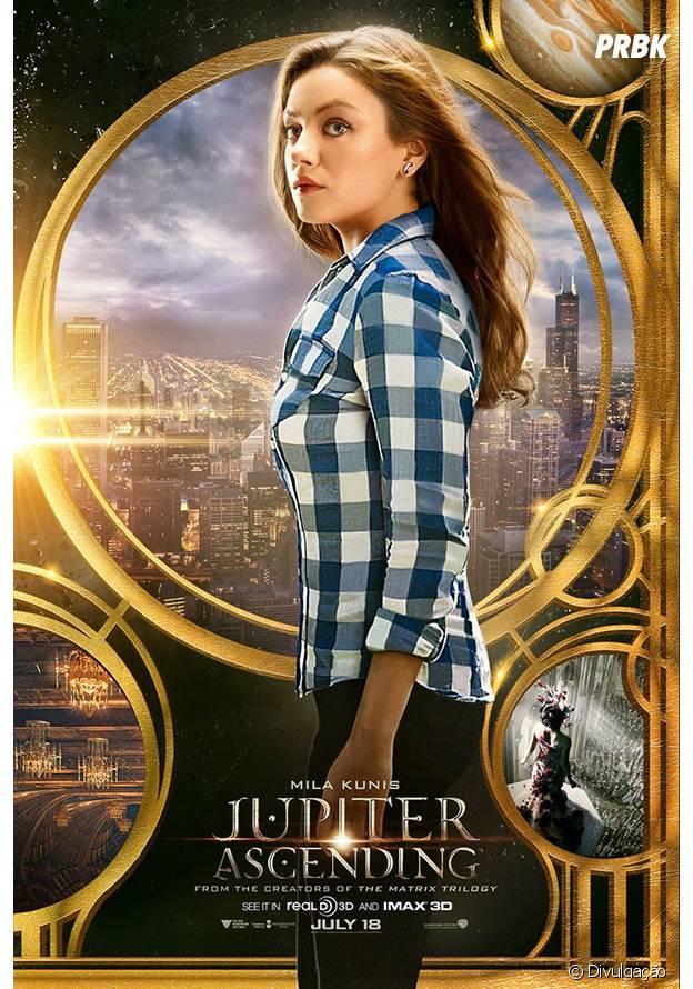"""Mila Kunis interpreta """"a escolhida"""" na trama de """"O Destino de Júpiter"""""""
