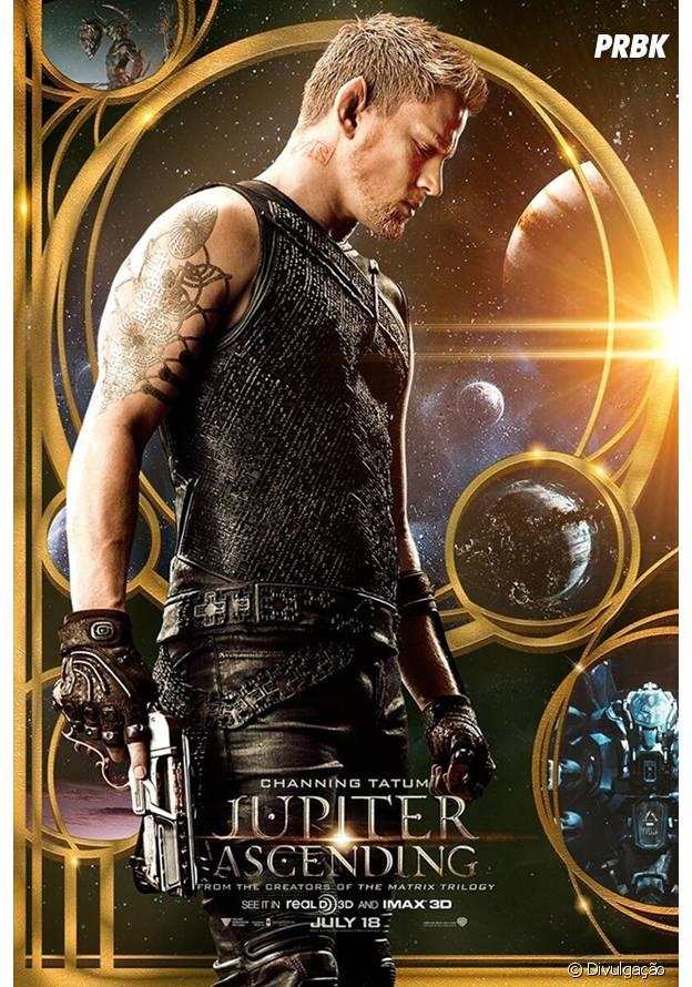 """Channing Tatum é um guerreiro na história de """"O Destino de Júpiter"""""""