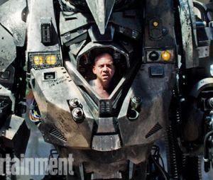 """Detalhe da armadura de Rino (Paul Giamatti) em """"O Espetacular Homem-Aranha 2"""""""