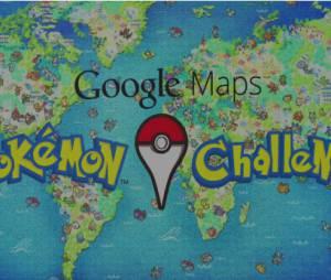 Desafio dos Pokémons. Encontre o seu no Google Maps.