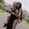 Luis Mariz e Viih Tube viajaram para Orlando juntos e publicaram uma série de fotos fofas no Instagram