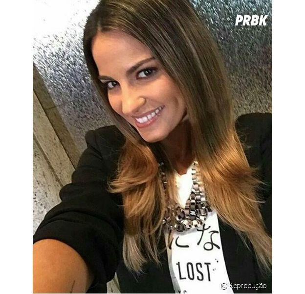 Maite Perroni desembarca em São Paulo e fãs piram nas redes sociais
