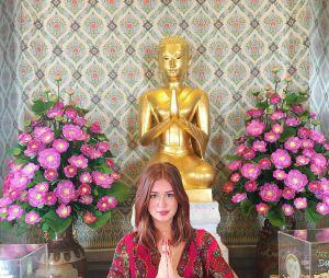"""Marina Ruy Barbosa, após curtir férias na Tailândia com noivo, desembarcou em Portugal para divulgar """"Totalmente Demais"""""""