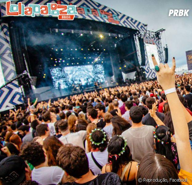 O Lollapalooza 2017 acontece no Brasil nos dias 25 e 26 de março