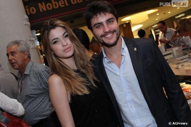Guilherme Leicam faz primeira aparição pública com a nova namorada, BrunaAltieri