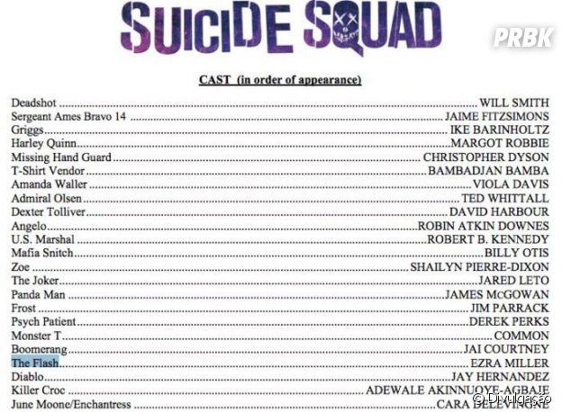 """Esses são os personagens que vão aparecer em """"Esquadrão Suicida"""", na ordem!"""