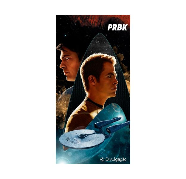 """Aproveitando a estreia de """"Star Trek: Sem Fronteiras"""", que tal relembrar o que rolou em """"Star Trek: Além da Escuridão""""?"""