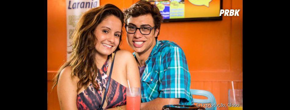 """Em """"Malhação"""", Amanda de Godoi e Francisco Vitti trouxeram o amor de Nanda e Filipe pra vida real"""